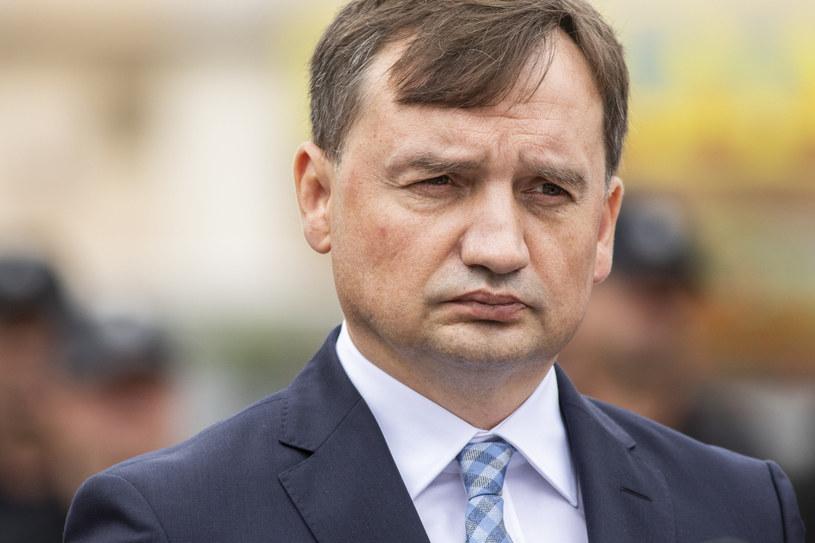Minister sprawiedliwości Zbigniew Ziobro /Grzegorz Bukala /Reporter