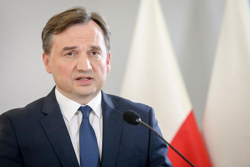 Minister sprawiedliwości Zbigniew Ziobro /Tomasz Jastrzębowski /Reporter