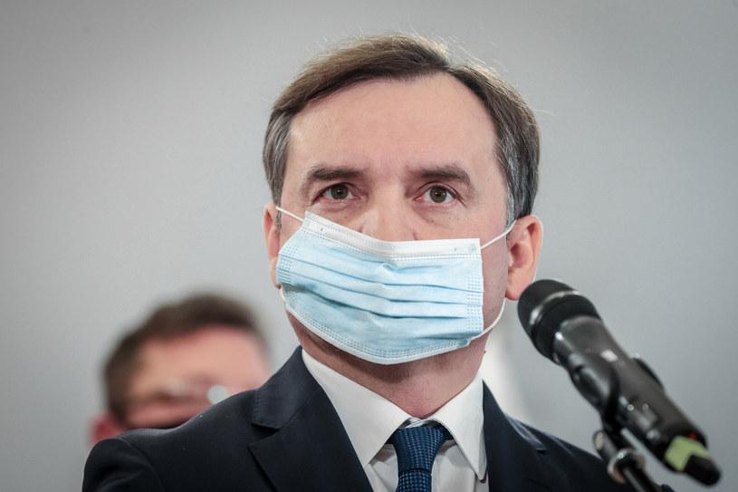 Minister sprawiedliwości Zbigniew Ziobro /Rafal Gaglewski /Reporter