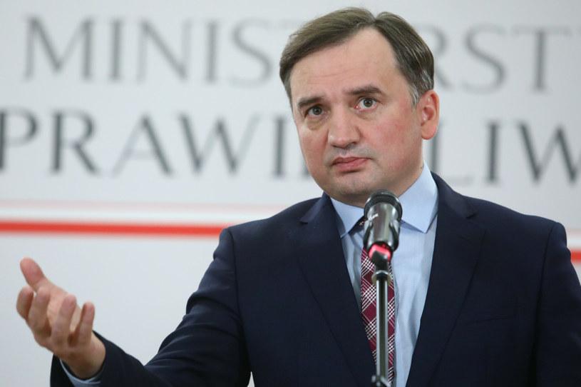 Minister sprawiedliwości Zbigniew Ziobro /Tomasz Jastrzebowski/ /Reporter