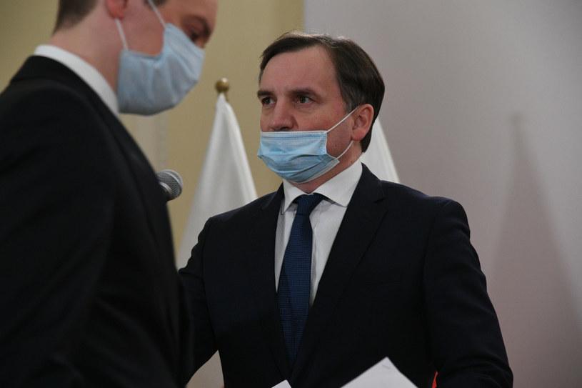 Minister sprawiedliwości Zbigniew Ziobro /Jacek Dominski/REPORTER /East News