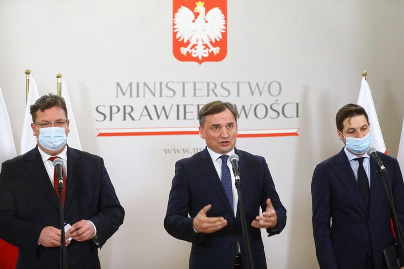 Minister sprawiedliwości Zbigniew Ziobro /Rafał Guz /PAP