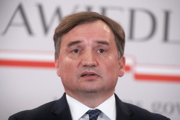 Minister sprawiedliwości Zbigniew Ziobro /Andrzej Lange /PAP