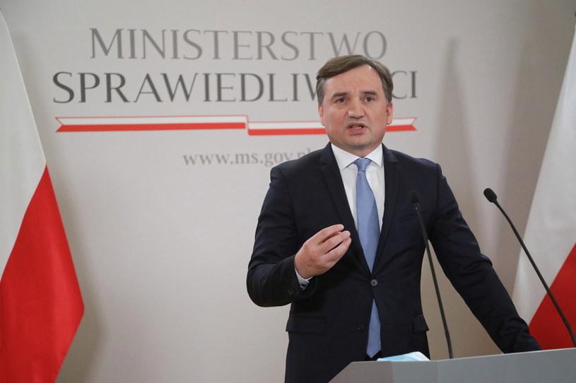 Minister sprawiedliwości Zbigniew Ziobro /Wojciech Olkuśnik /PAP