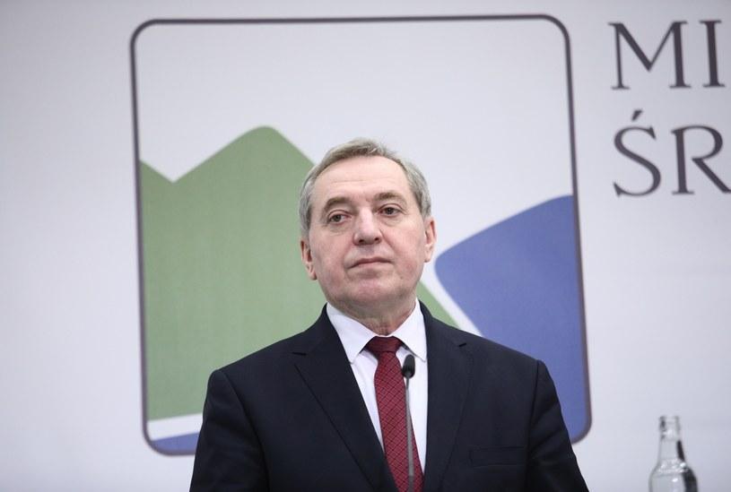 Minister środowiska Henryk Kowalczyk / Leszek Szymański    /PAP