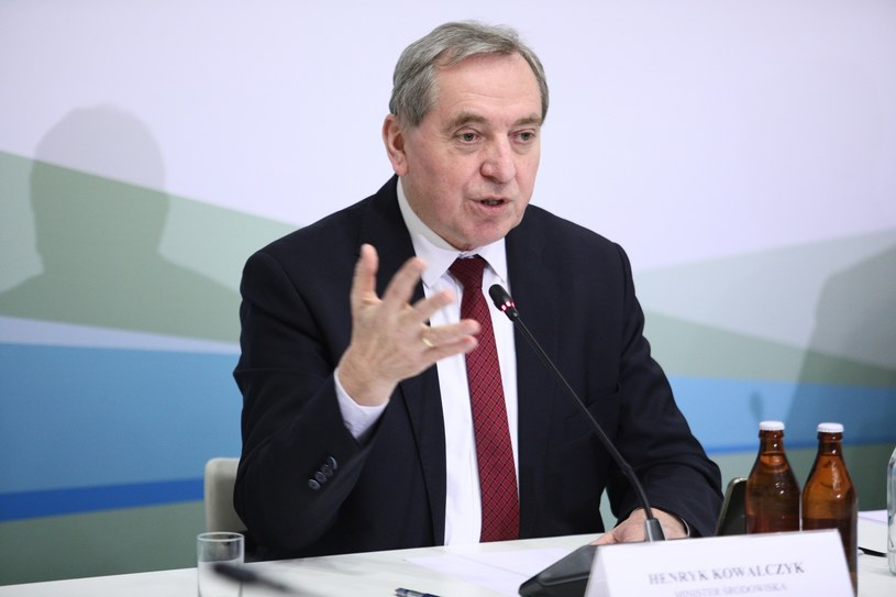 Minister środowiska Henryk Kowalczyk /Leszek Szymański /PAP