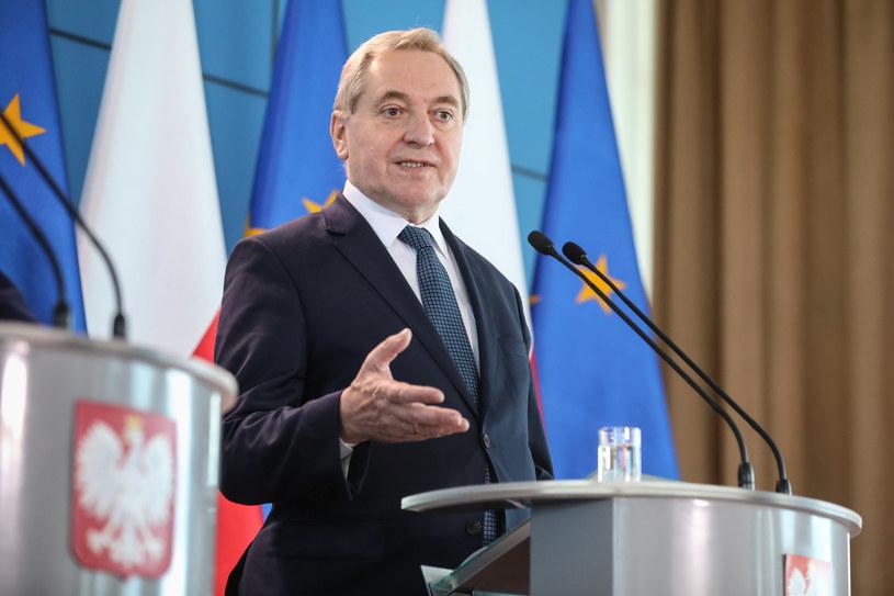 Minister środowiska Henryk Kowalczyk /fot. Andrzej Iwanczuk /Reporter