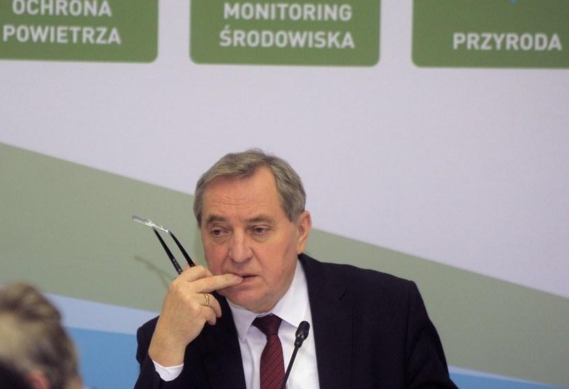 Minister środowiska Henryk Kowalczyk /Jan Bielecki /East News
