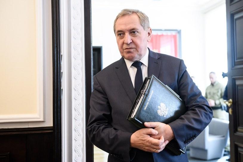 Minister środowiska Henryk Kowalczyk /Rafal Oleksiewicz /Reporter