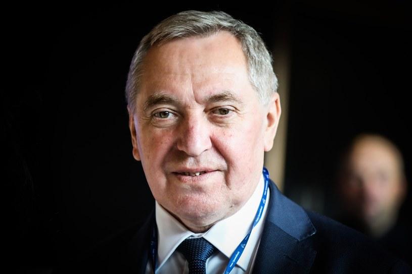 Minister środowiska Henryk Kowalczyk /Beata Zawrzel /Reporter