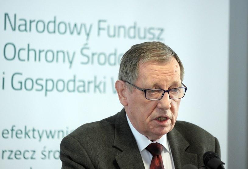 Minister środowiska Jan Szyszko /Jan Bielecki /East News