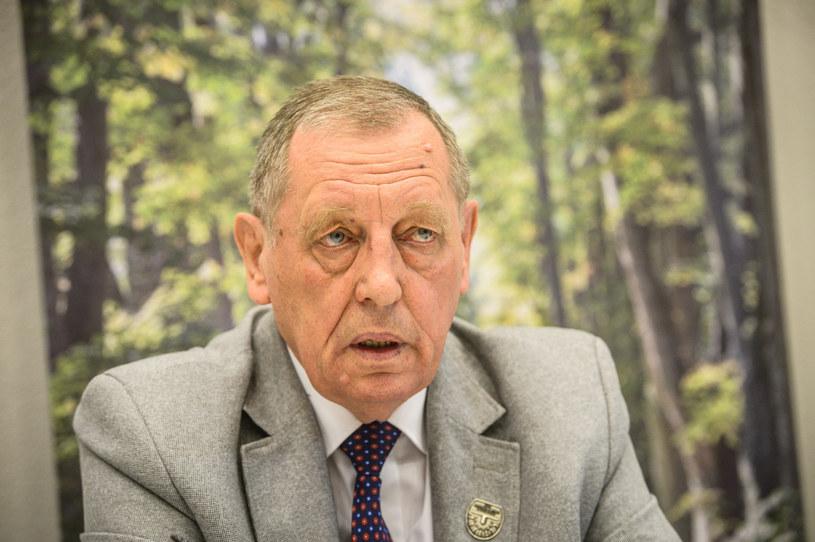 Minister środowiska Jan Szyszko /Jacek Domiński /Reporter