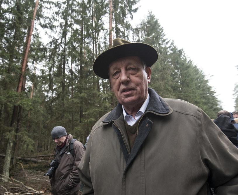 Minister środowiska Jan Szyszko /Michał Kość /Agencja FORUM