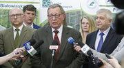 Minister Szyszko o cięciach w Puszczy Białowieskiej