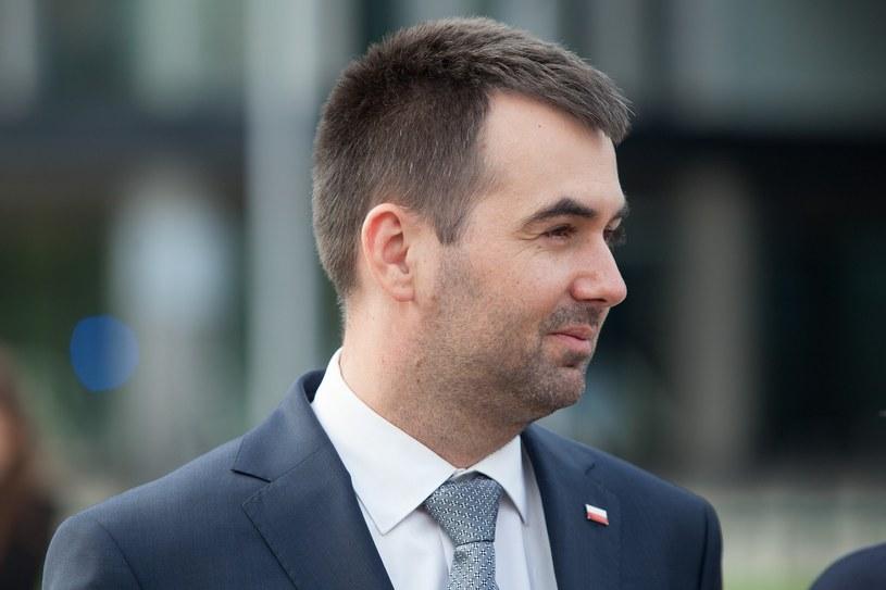Minister w Kancelarii Prezydenta Błażej Spychalski /Stefan Maszewski /Reporter