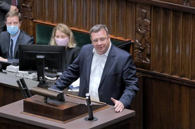 Minister w KPRM Michał Wójcik /Mateusz Marek /PAP