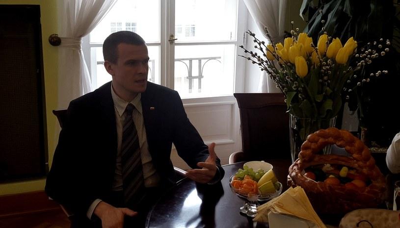 Minister Witold Bańka /Michał Białoński /INTERIA.PL