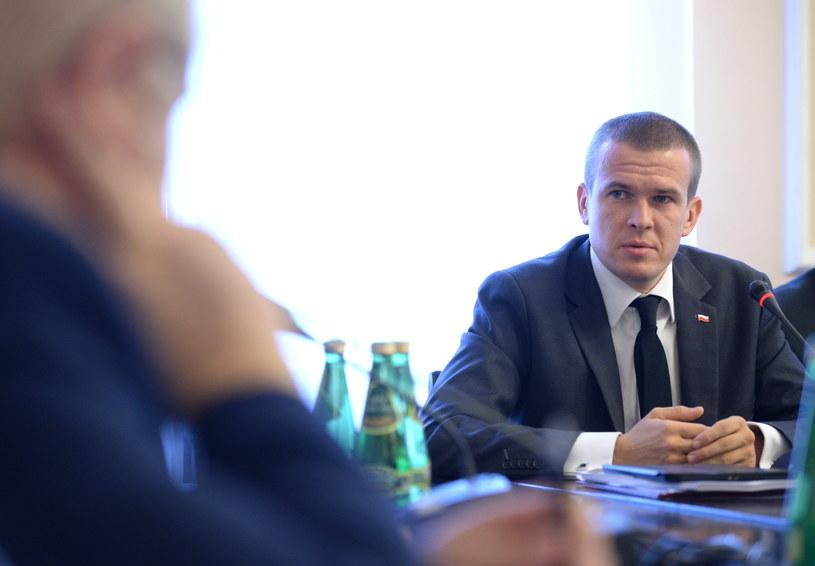 Minister Witold Bańka /Jacek Turczyk /PAP