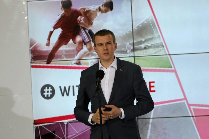 Minister Witold Bańka /Franciszek Mazur /