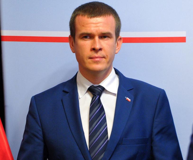 Minister Witold Bańka /Marcin Bielecki /PAP