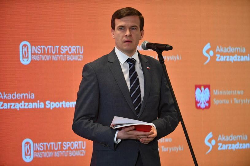 Minister Witold Bańka /Bartłomiej  Zborowski /PAP