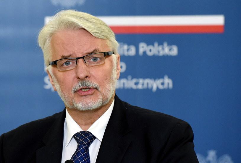 Minister Witold Waszczykowski odwiedzi Maltę /Radek Pietruszka /PAP