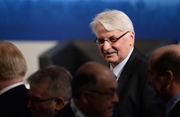Minister Witold Waszczykowski /PAP/EPA