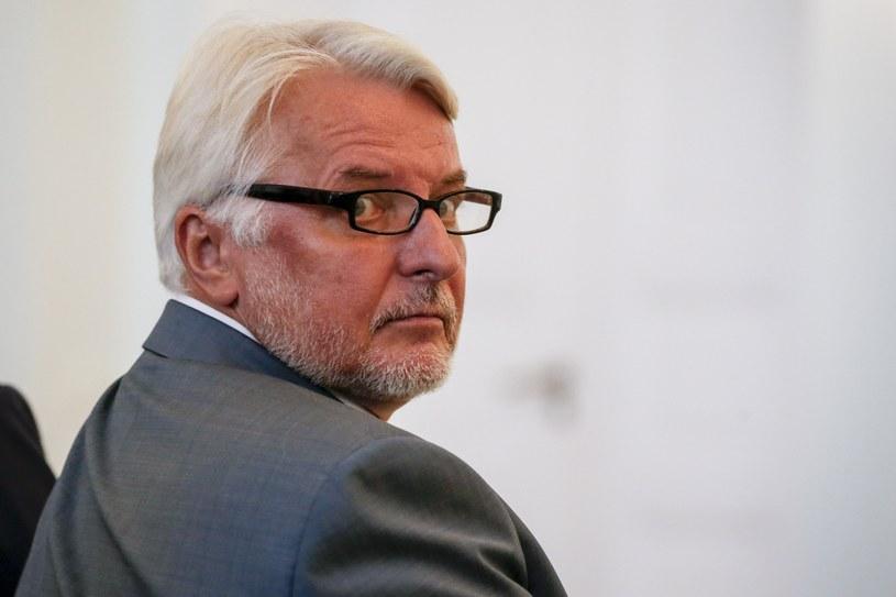 Minister Witold Waszczykowski /Andrzej Iwańczuk /Reporter