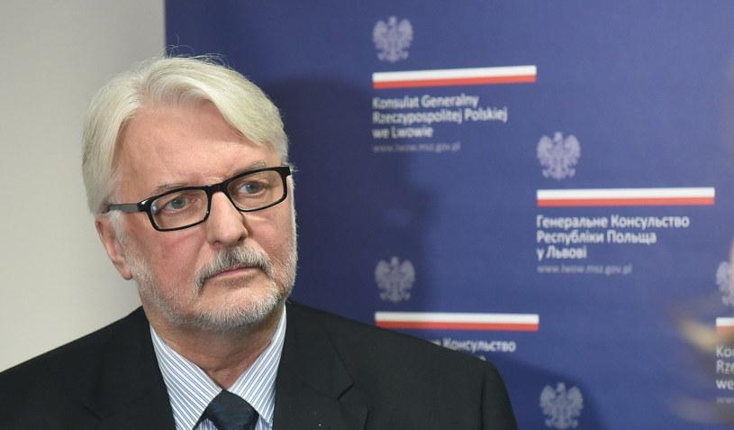 Minister Witold Waszczykowski /Radek Pietruszka /PAP