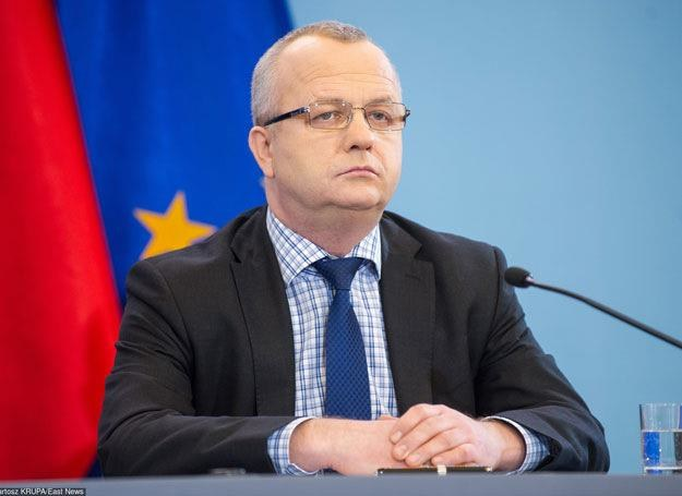 Minister Wojciech Kowalczyk Fot. Bartosz Krupa /East News