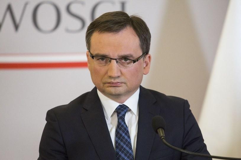 Minister Zbigniew Ziobro: Aferzyści muszą się bać /Andrzej Hulimka  /Reporter