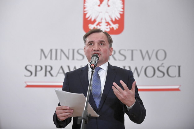 Minister Zbigniew Ziobro o unijnych negocjacjach / Marcin Obara  /PAP/EPA