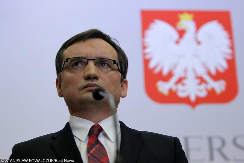 Minister Zbigniew Ziobro /Stanisław Kowalczuk /East News