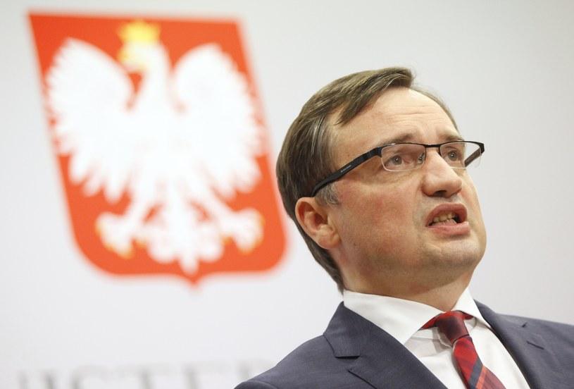 Minister Zbigniew Ziobro /STEFAN MASZEWSKI/REPORTER /Reporter
