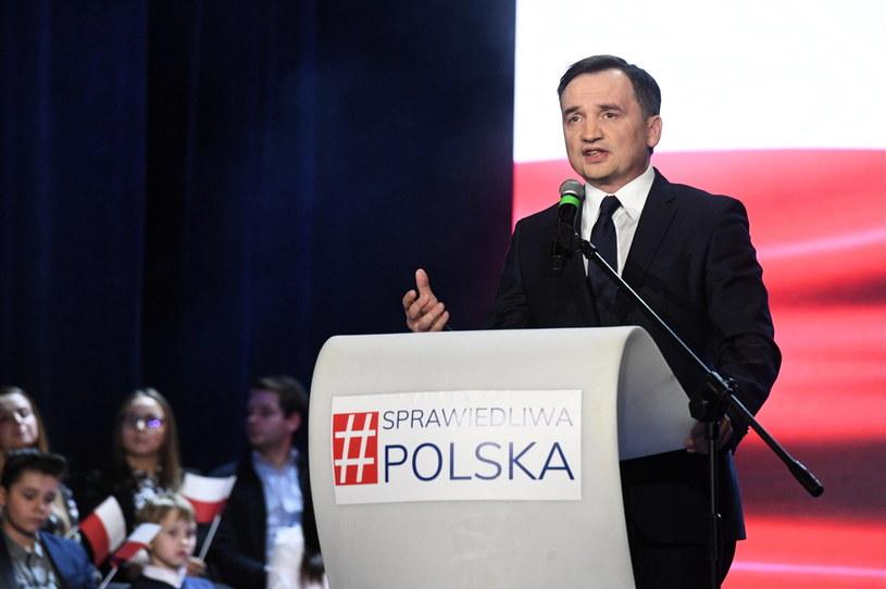 Minister Zbigniew Ziobro /Radek Pietruszka /PAP