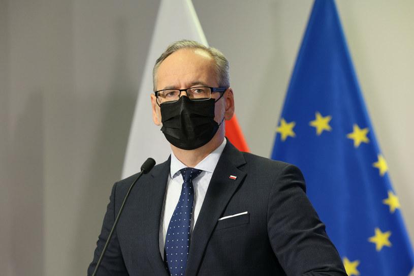 Minister zdrowia Adam Niedzielski poinformował o wariancie Delta w Polsce /Jacek Domiński /Reporter