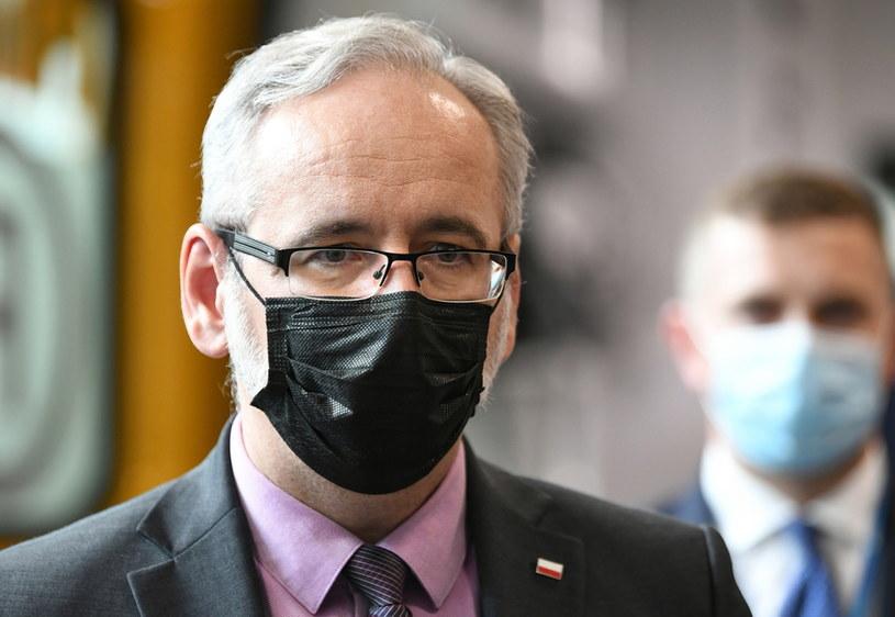 Minister zdrowia Adam Niedzielski sprzeciwia się aktom hejtu wymierzonym w medyków i pracowników służby zdrowia /PAP/Darek Delmanowicz /PAP