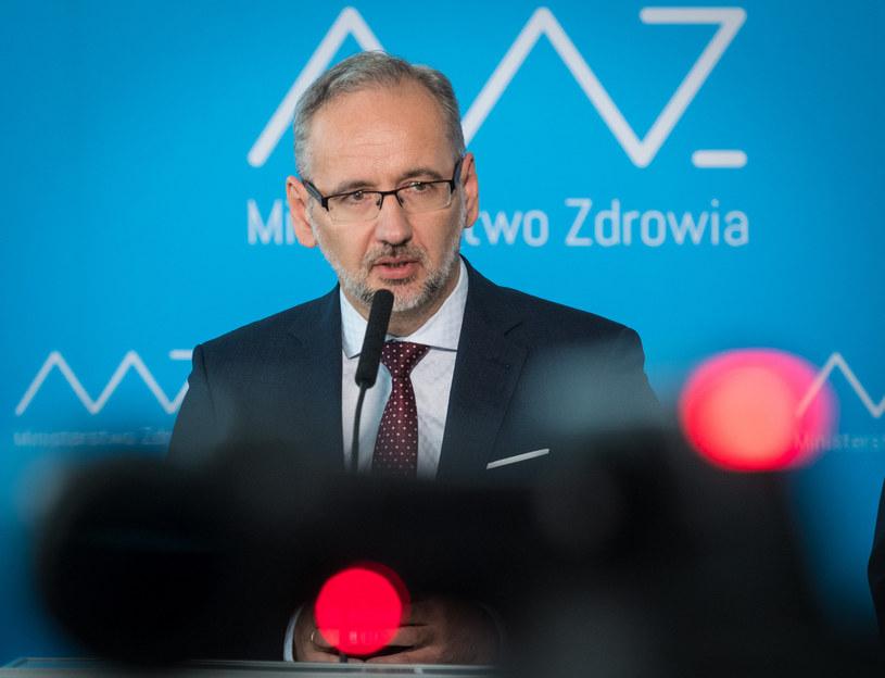 Minister zdrowia Adam Niedzielski /Jacek Dominski/ /Reporter