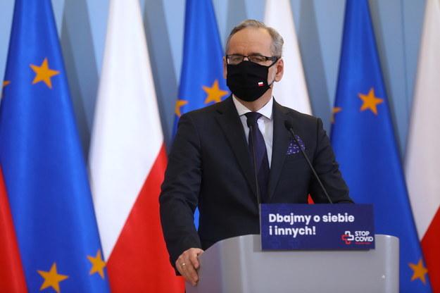 Minister zdrowia Adam Niedzielski /Rafał Guz /PAP