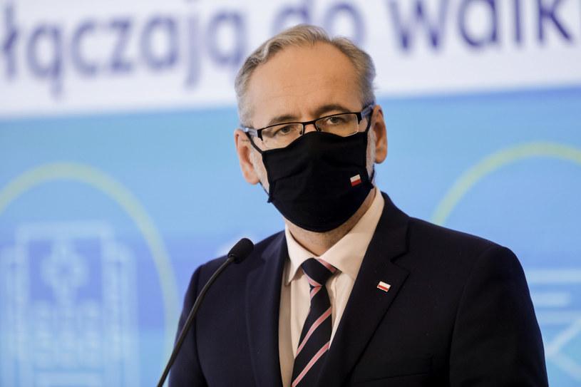 Minister zdrowia Adam Niedzielski /Grzegorz Banaszak /Reporter