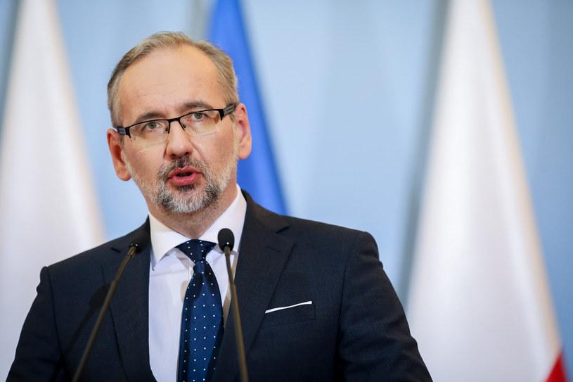 Minister zdrowia Adam Niedzielski /fot. Andrzej Iwanczuk /Reporter