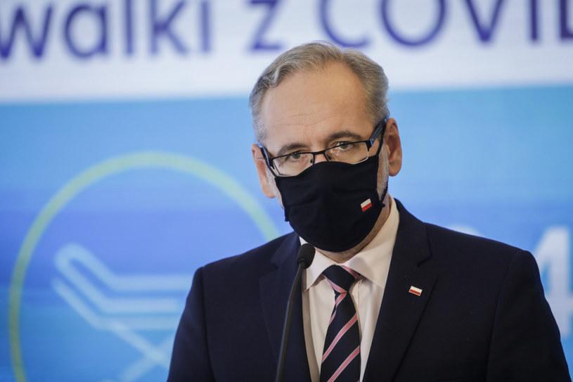 Minister zdrowia Adam Niedzielski /Grzegorz Banaszak/REPORTER /Reporter