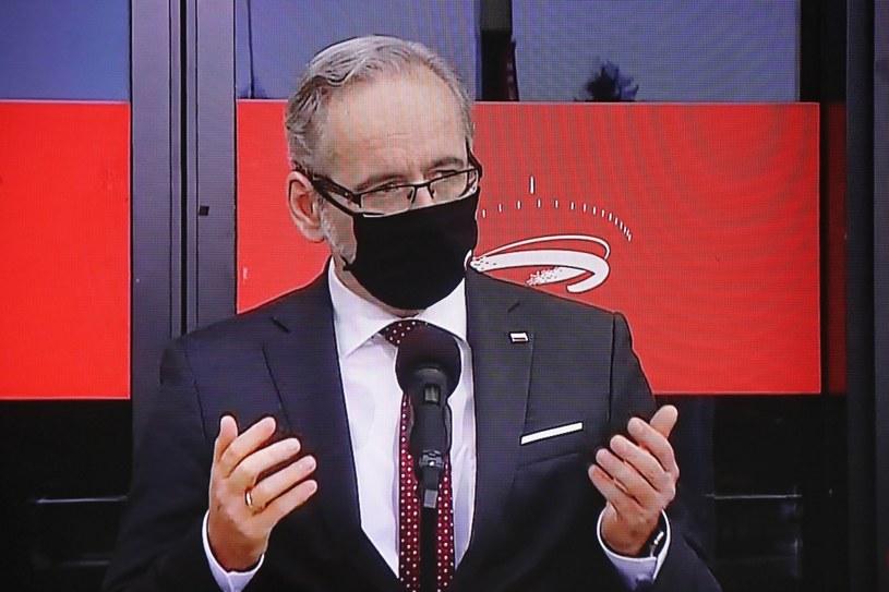 Minister zdrowia Adam Niedzielski /Paweł Supernak /PAP