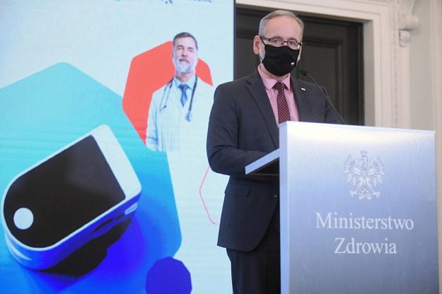 Minister zdrowia Adam Niedzielski / Marcin Obara  /PAP