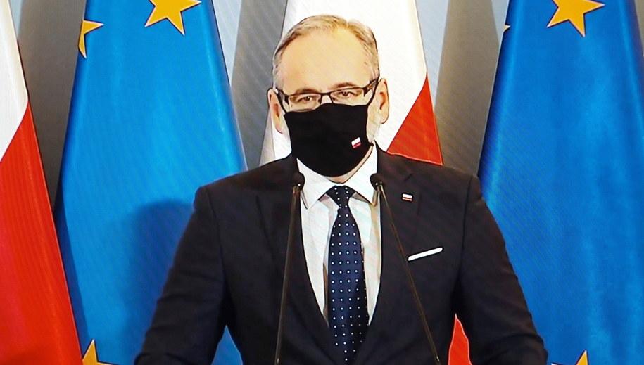 Minister zdrowia Adam Niedzielski /Mateusz Marek /PAP