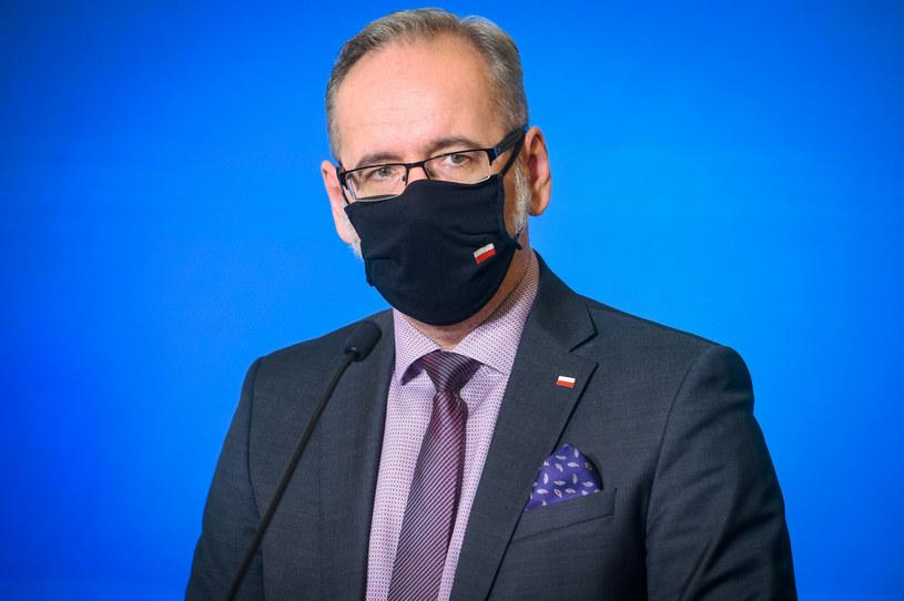 Minister zdrowia Adam Niedzielski /Zbyszek Kaczmarek /Reporter