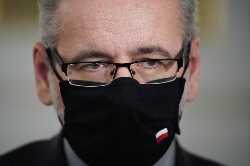 Minister zdrowia Adam Niedzielski /Mateusz Wlodarczyk /Agencja FORUM
