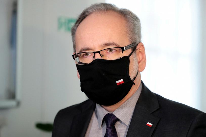 Minister zdrowia Adam Niedzielski /Piotr Molecki /East News