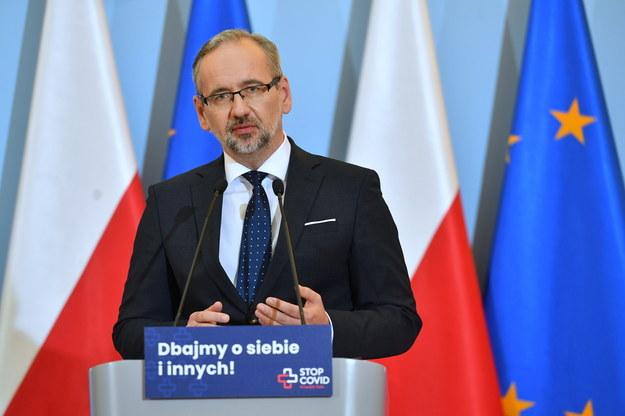 Minister zdrowia Adam Niedzielski /Piotr Nowak /PAP