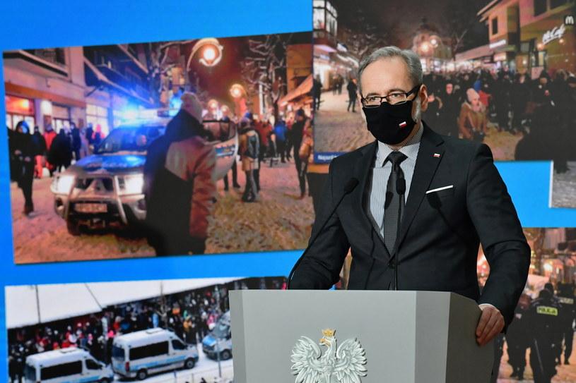 Minister zdrowia Adam Niedzielski / Radek Pietruszka   /PAP